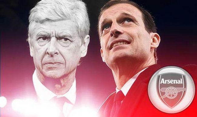 Allegri và Arsenal đã có những thỏa thuận miệng với nhau